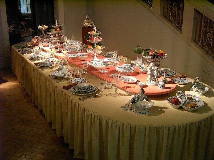 как правильно сервировать стол, сервировка стола
