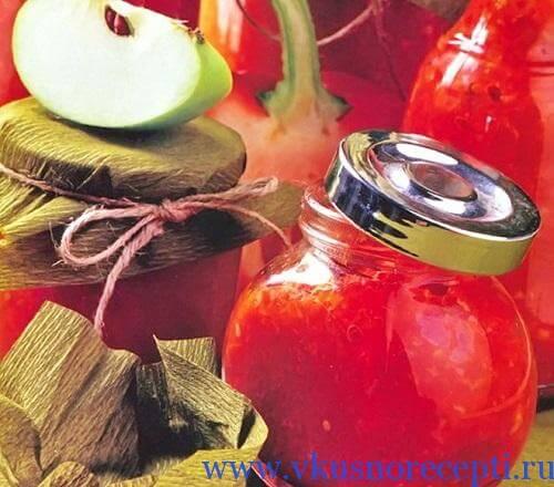 Закуска из помидор и баклажанов на зиму рецепт с фото