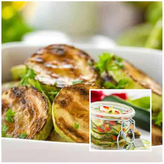 рецепт жареных кабачков на зиму