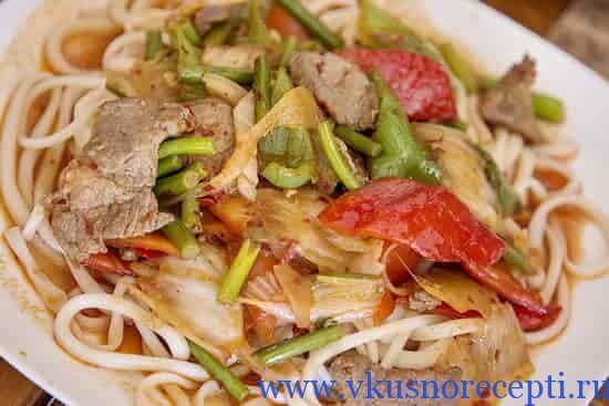 лагман узбекский рецепт
