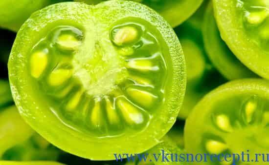 простые рецепты из зеленых помидор