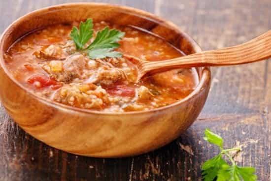 рецепт супа харчо из курицы с рисом